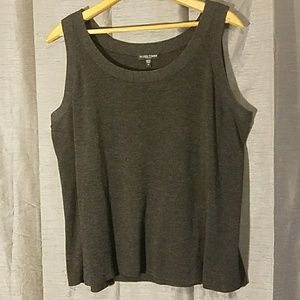 Plus Size Eileen Fisher Merino Wool Tank